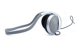 Audio head-phones Stock Images