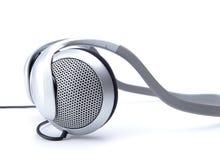 Audio head-phones Stock Images