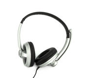 Audio headset with a micro. (clipping path Stock Photography
