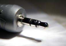 audio hefboom Stock Afbeelding