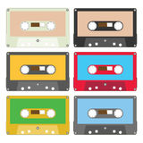 audio i set tape Στοκ φωτογραφία με δικαίωμα ελεύθερης χρήσης