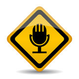 Audio icon Royalty Free Stock Image