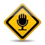 Audio icon Royalty Free Stock Image