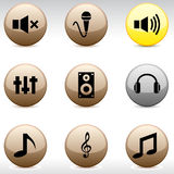 Audio Icons.