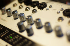 Audio interface Stock Image