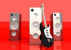 Audio intrattenimento illustrazione di stock