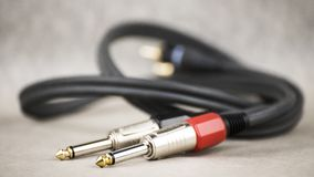 Audio Jack friends stock photography