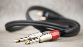 Audio Jack przyjaciele Fotografia Stock