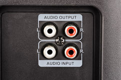 Audio jack Stock Photos