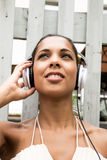 Audio joy Royalty Free Stock Photo