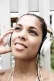 Audio joy Stock Photo