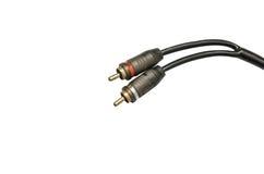 Audio kabel Zdjęcie Stock