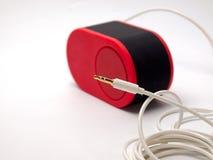 Audio kabel Royalty-vrije Stock Foto's