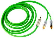 audio kabel Fotografia Royalty Free