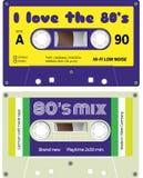 Audio kasety rejestry Zdjęcie Stock