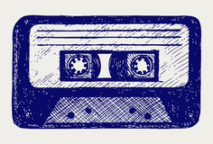 Audio kasety taśma Fotografia Stock