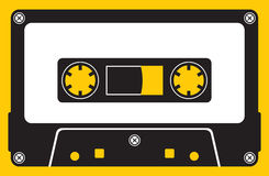 audio kasety taśma Ilustracja Wektor