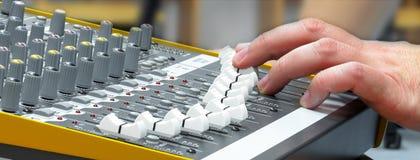 Audio konsola 6 Fotografia Stock