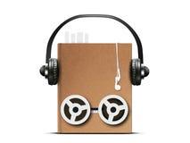 Audio książka Obrazy Royalty Free