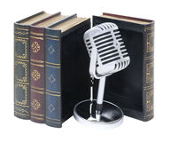 Audio libri Immagine Stock