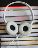 Audio libri Immagine Stock