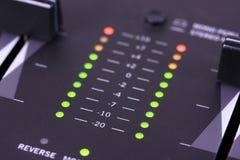 Audio livello Immagini Stock