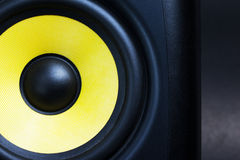 Audio loud speaker close up Royalty Free Stock Photos