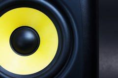 Audio loud speaker close up Royalty Free Stock Photos