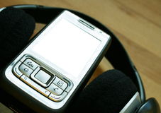 Audio móvil Fotografía de archivo libre de regalías