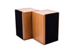 audio mówcy dwa Zdjęcia Stock