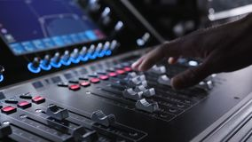 Sound panel for audio mixing and broadcasting