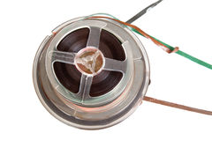 Audio magetic reel tape, isolated Stock Image