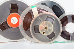 Audio magetic reel tape Stock Images