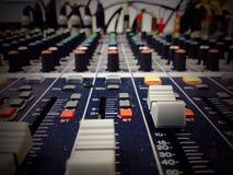 Audio melanżer Zdjęcie Royalty Free