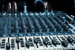 audio melanżer zdjęcie stock