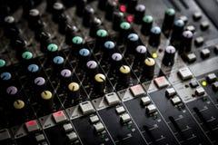 audio melanżeru część dźwięk Zdjęcie Royalty Free