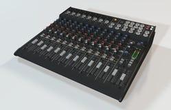 Audio melanżer ilustracja wektor