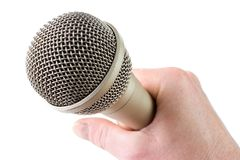 Audio microphone Stock Images