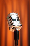 Audio microphone on the background Royalty Free Stock Photo