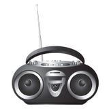 Audio mini-systeem, radio, speler Royalty-vrije Stock Afbeelding