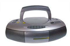 Audio mini-system, radio, player Royalty Free Stock Photography