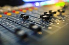 Audio miscelatore sano Fotografie Stock