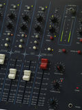 Audio Mix Console Royalty Free Stock Image