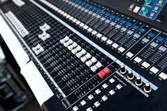 Audio mixer Royalty Free Stock Photos