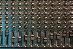 Audio mixer Royalty-vrije Stock Fotografie