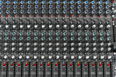 Audio mixer Royalty-vrije Stock Fotografie