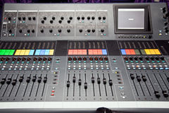 Audio mixer Stock Photos