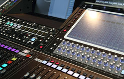 Audio Mixer Stock Image