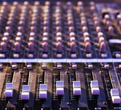Audio mixer Royalty Free Stock Image