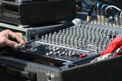 Audio mixer royalty free stock photography